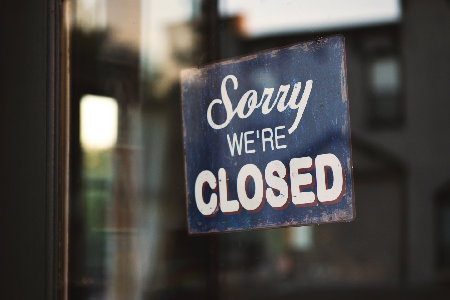 Sorry - we are closed